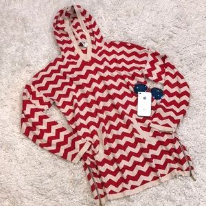 ALICE by Temperley Chevron Pullover Sweater